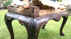 Antique Walnut Stool 19h 26w 15d 10.JPG
