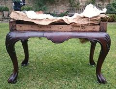 Antique Walnut Stool 19h 26w 15d 2.JPG