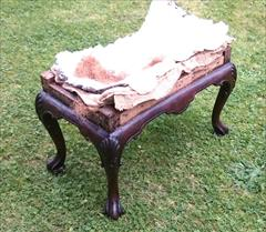 Antique Walnut Stool 19h 26w 15d 3.JPG