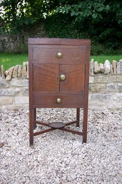 Antique Oak Pot Cupboard 1.JPG