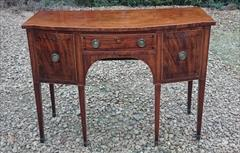Antique Sideboard Mahogany 48w 22d 35h 1.JPG