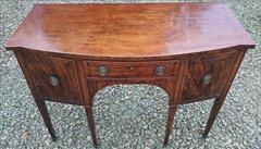 Antique Sideboard Mahogany 48w 22d 35h 3.JPG