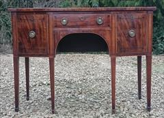 Antique Sideboard Mahogany 48w 22d 35h 4.JPG