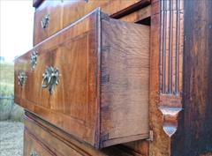 Antique 18th Century Walnut Chest on Chest 68h 40½w 20¾d 8.JPG