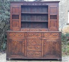 Antique Early Oak Dresser 74w 21d 82.5h _3.JPG