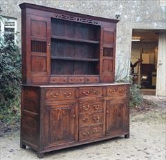 Antique Early Oak Dresser 74w 21d 82.5h _4.JPG