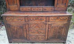 Antique Early Oak Dresser 74w 21d 82.5h _6.JPG